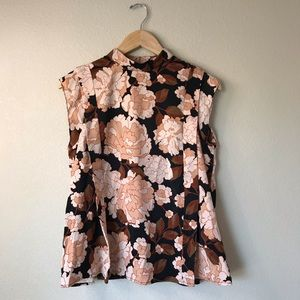 Who What Wear NWT Floral Blouse